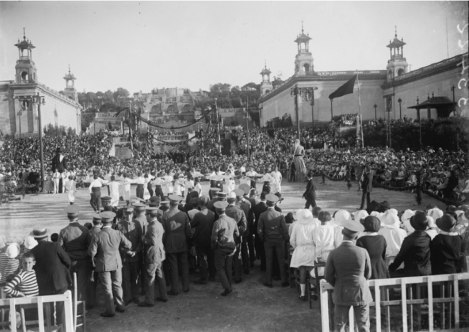 Festa Colonies Montjuïc- Sardana