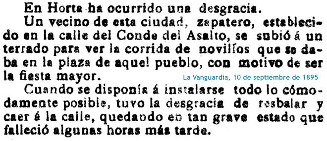 Noticia de La Vanguardia.